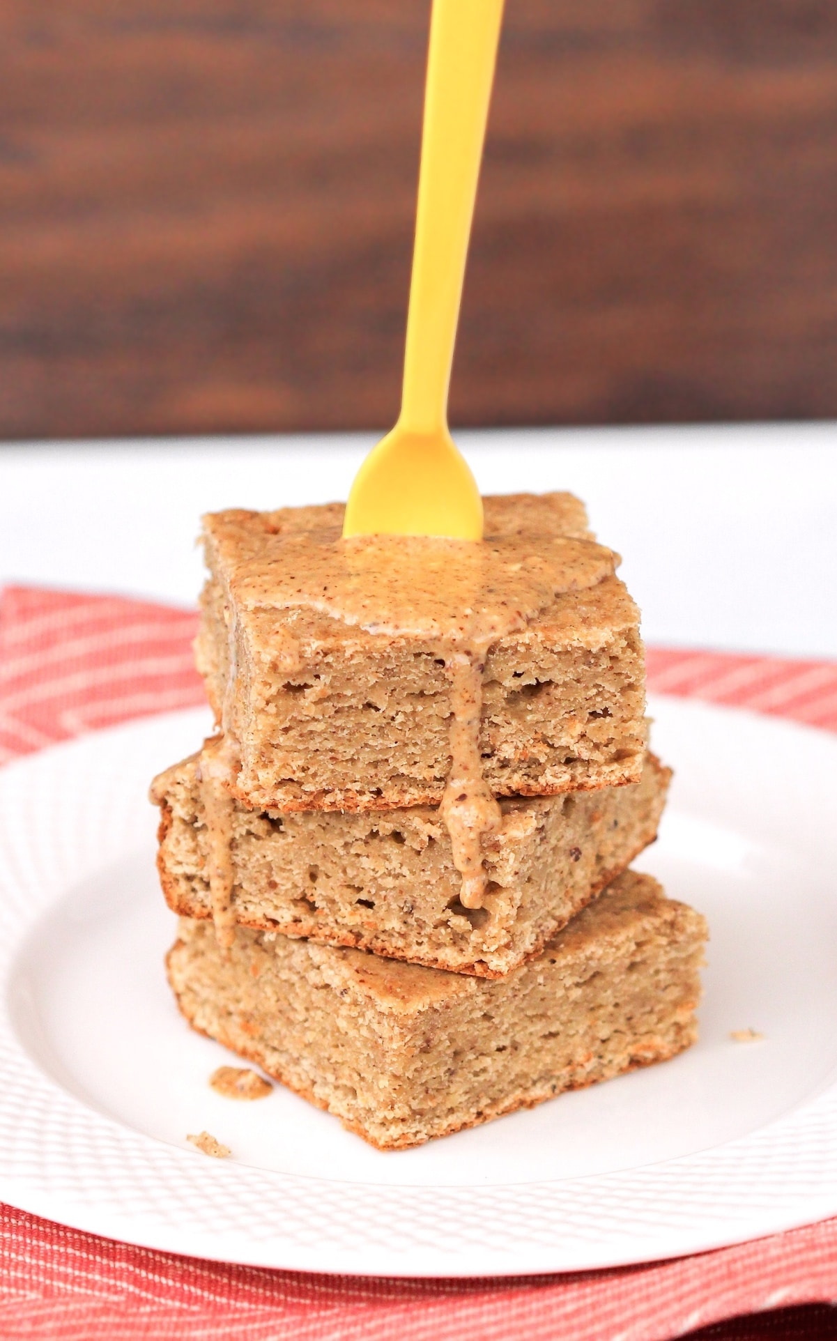 Healthy Blondies Recipe from the Naughty or Nice Cookbook: The ULTIMATE Healthy Dessert Cookbook – Jessica Stier of Desserts with Benefits