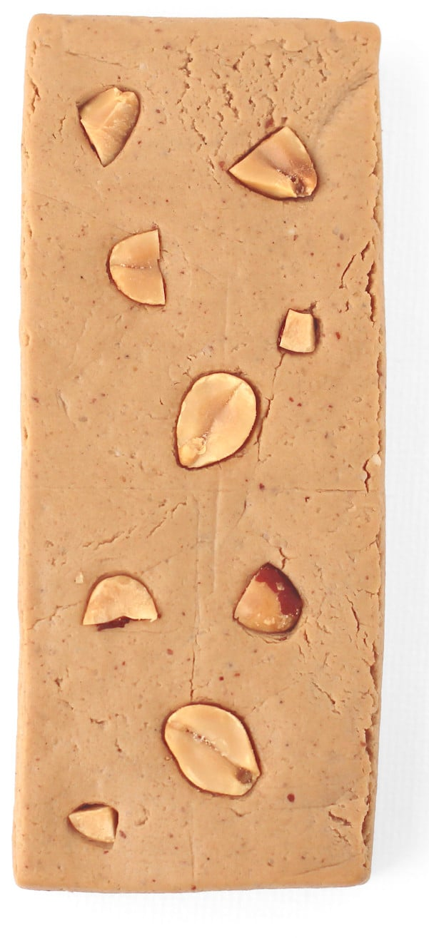 Healthy Peanut Butter Fudge DIY Protein Bars from the DIY Protein Bars Cookbook (refined sugar free, low carb, high protein, high fiber, gluten free, dairy free, vegan) – authored by Jessica Stier of the Desserts with Benefits Blog