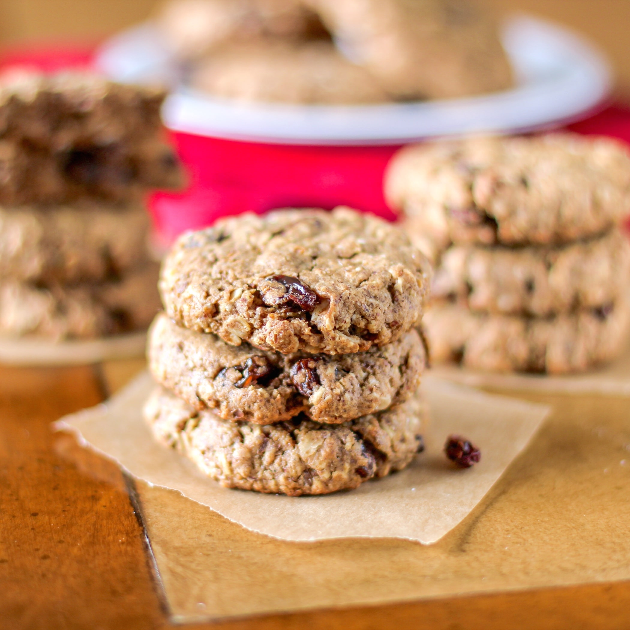 Healthy Oatmeal Raisin Cookies - Desserts With Benefits