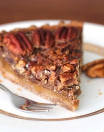 Healthy Maple Pecan Pie Recipe - Desserts With Benefits