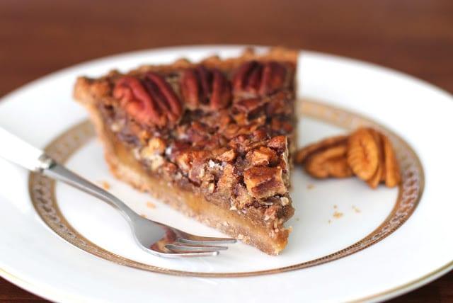 [14 healthy pie recipes to celebrate Pi Day] Healthy Maple Pecan Pie Recipe!