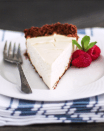 Classic Cheesecake - Naughty or Nice Cookbook: The ULTIMATE Healthy Dessert Cookbook – Jessica Stier of Desserts with Benefits