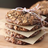 Healthy Cookies and Crackers