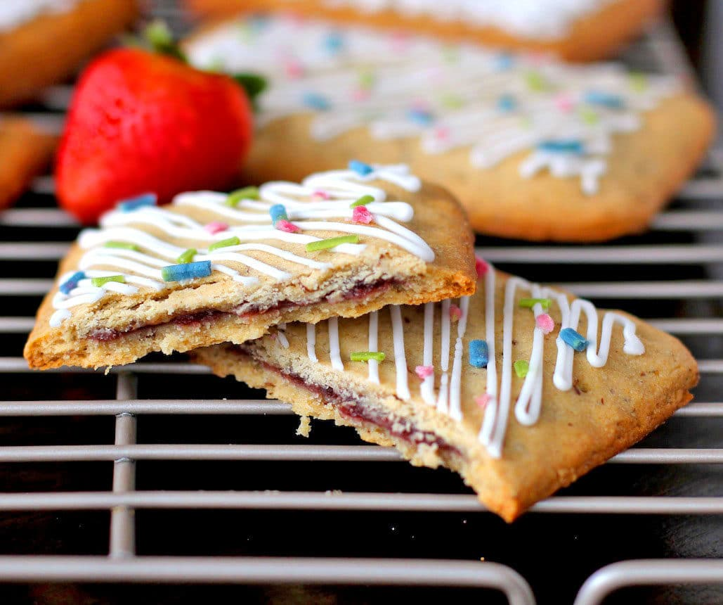 Healthy Homemade Pop Tarts