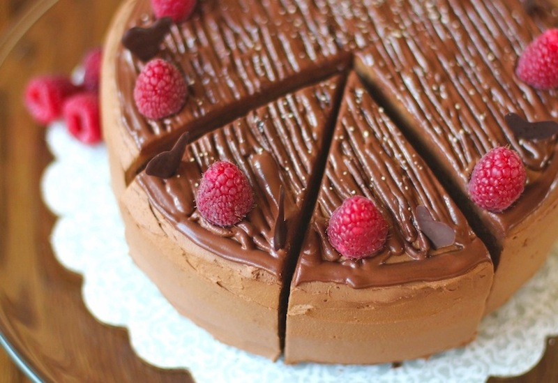 This Healthy Chocolate Therapy Cake is so decadent, rich, and delicious, you'd never know it's guilt free, low sugar, low fat, high protein and gluten free!