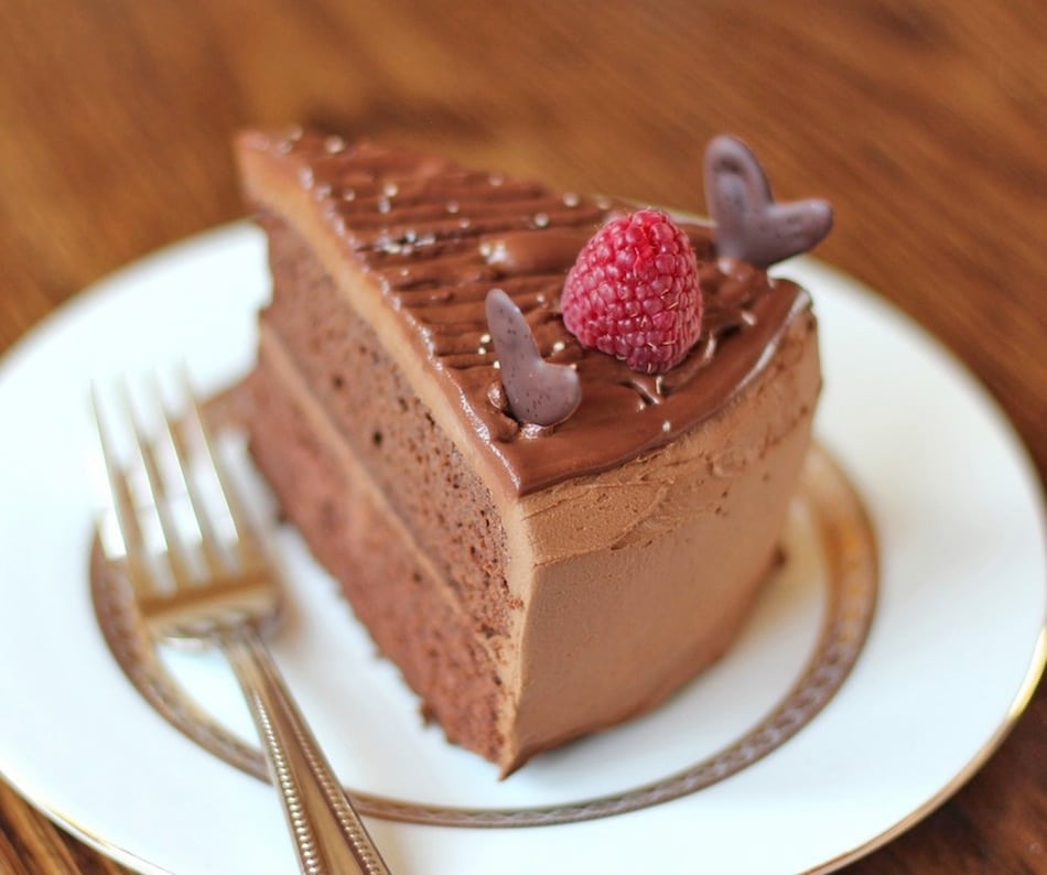 Healthy Quintuple Chocolate Cake