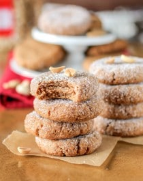 Healthy Peanut Butter Cookies - Desserts With Benefits