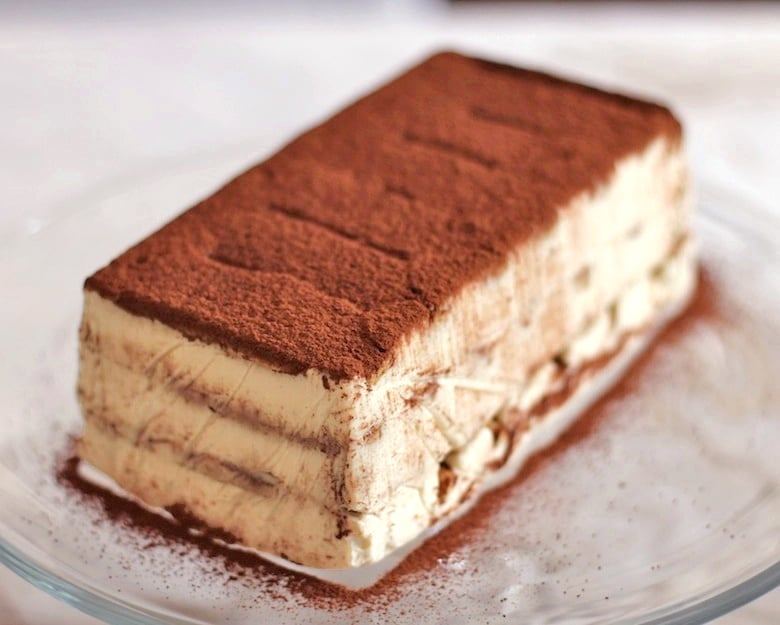 Healthy Tiramisu Recipe (refined sugar free, gluten free)