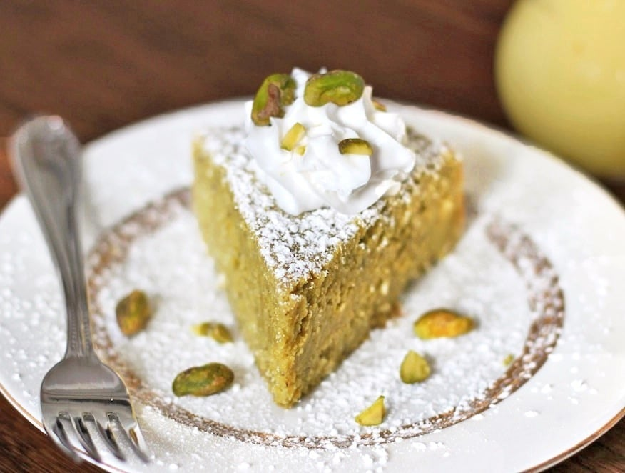 Pistachio Lemon Cake Recipe
