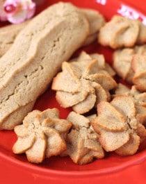 Healthy Spritz Cookies