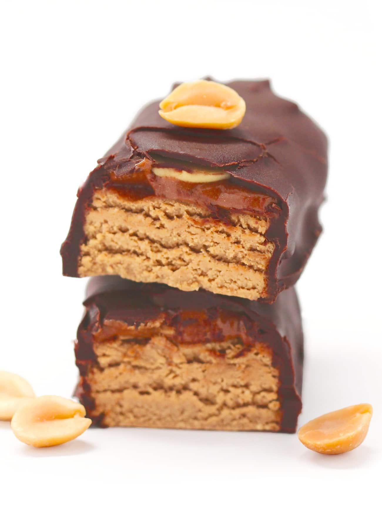Healthy Snickerz DIY Protein Bars