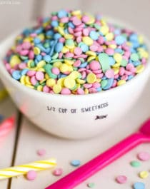 Healthy Homemade Rainbow Sprinkles and Confetti (all natural, sugar free, gluten free, dairy free, vegan) - Healthy Dessert Recipes at Desserts with Benefits