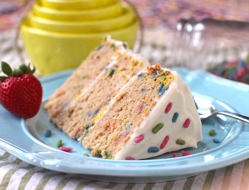 Healthy Funfetti Cake