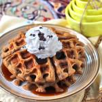 Healthy Quinoa Protein Waffles