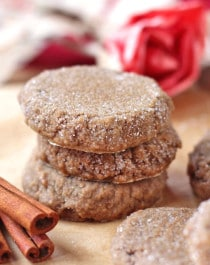 Healthy Gingersnaps