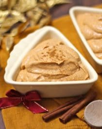 Healthy Pumpkin Pie Cheesecake Dip - Healthy Dessert Blog