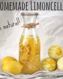Healthy All Natural Homemade Limoncello - Healthy Dessert Blog