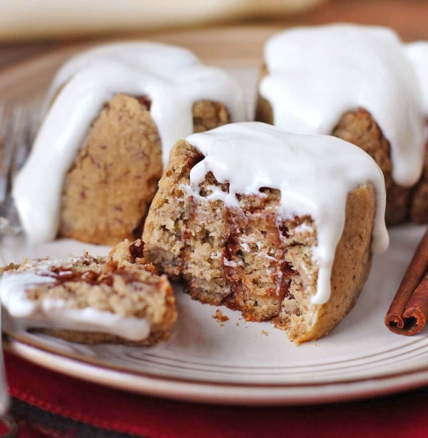 Healthy Homemade Cinnamon Rolls