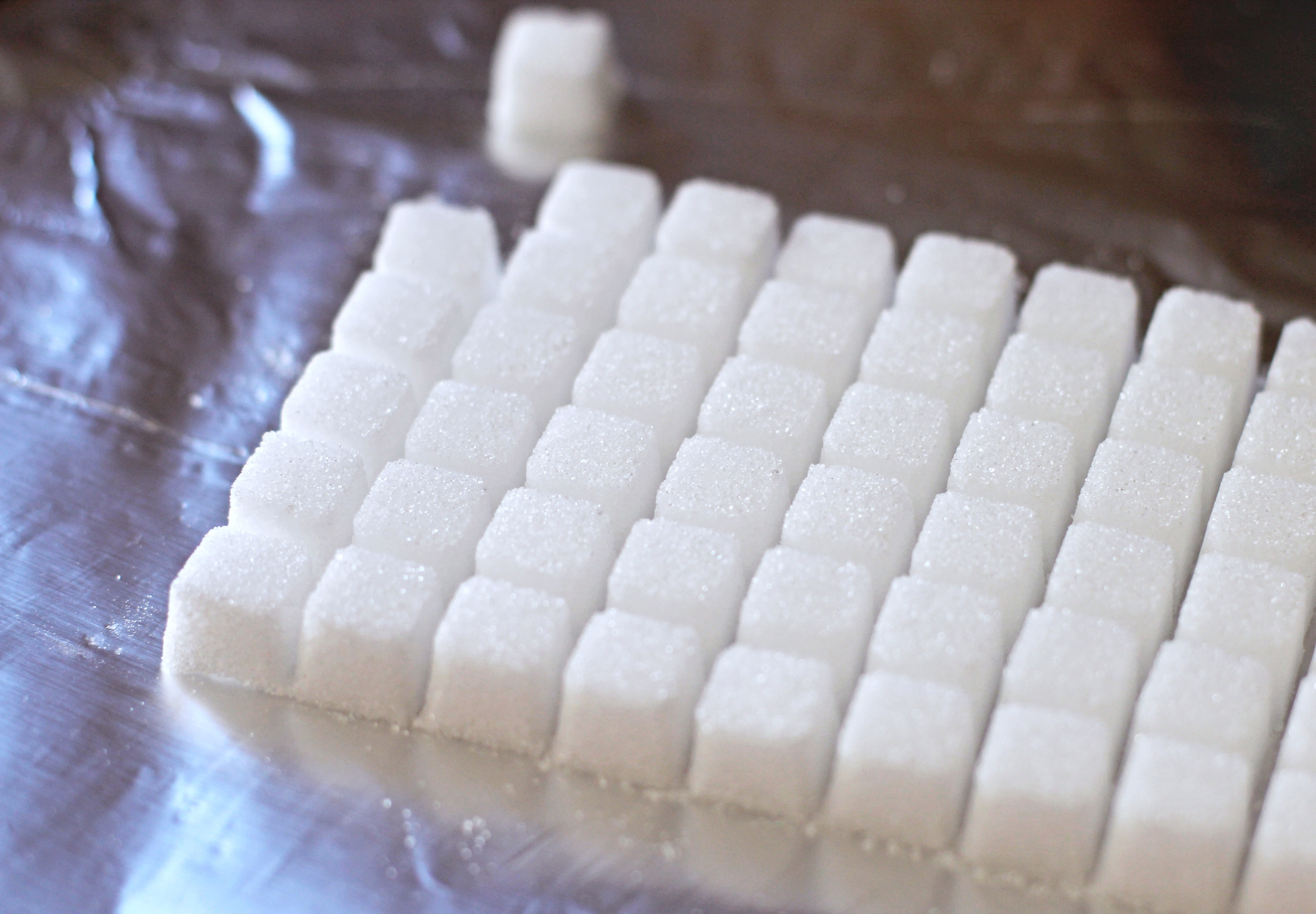 Sugar Free DIY Sugar Cubes - Healthy Dessert Recipes
