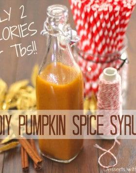Healthy Butterscotch Pumpkin Spice Syrup - Healthy Dessert Blog