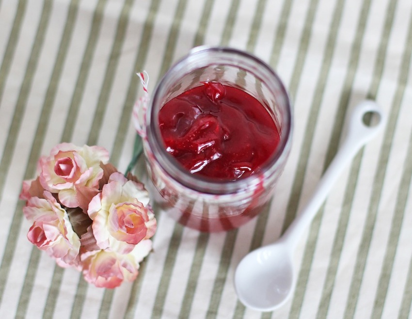 Homemade Raspberry Curd