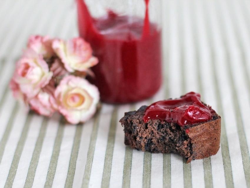 Healthy Raspberry Curd