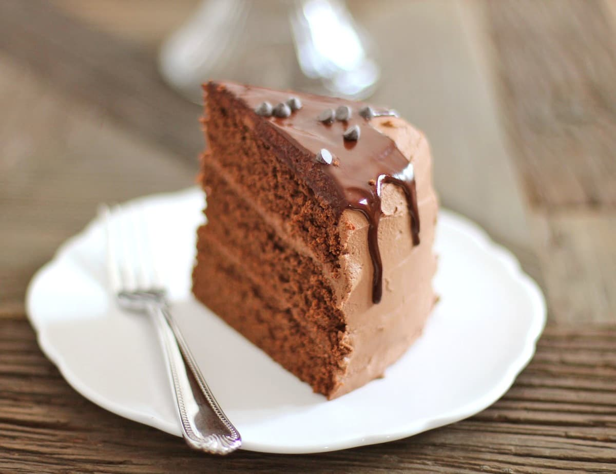 Low Fat High Fibre Cake Recipes: Healthy Chocolate Therapy Cake