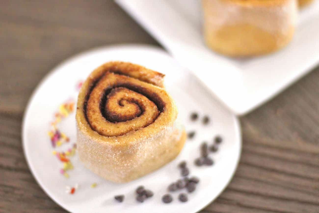 Magic that s what these low carb and gluten free cinnamon rolls