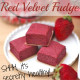 Healthy Red Velvet Fudge Protein Bars