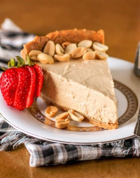 Healthy Peanut Butter Pie - Naughty or Nice Cookbook: The ULTIMATE Healthy Dessert Cookbook – Jessica Stier of Desserts with Benefits