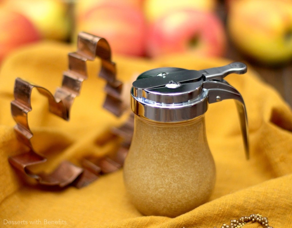 Healthy Homemade Maple Syrup - Healthy Dessert Recipes at Desserts with Benefits