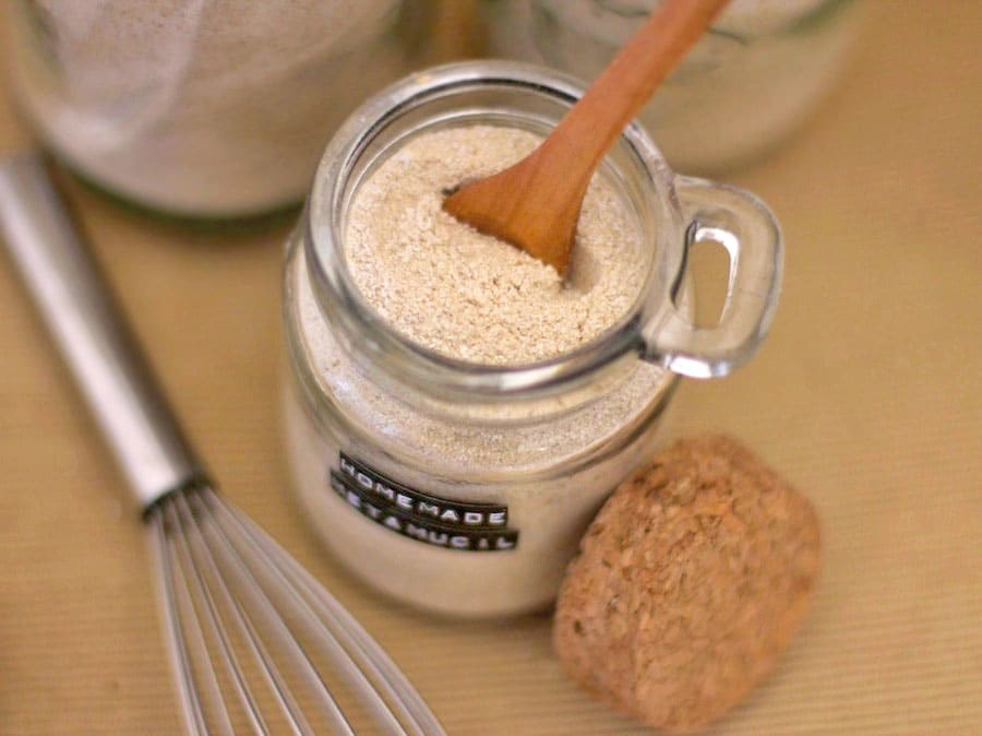 Healthy Homemade Psyllium Fiber Supplement (aka Metamucil)