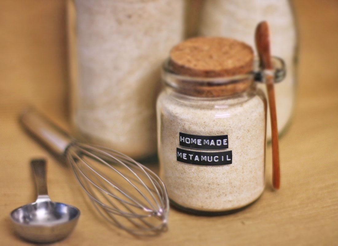 Healthy Homemade Christmas Gifts: Healthy Homemade Psyllium Fiber Supplement