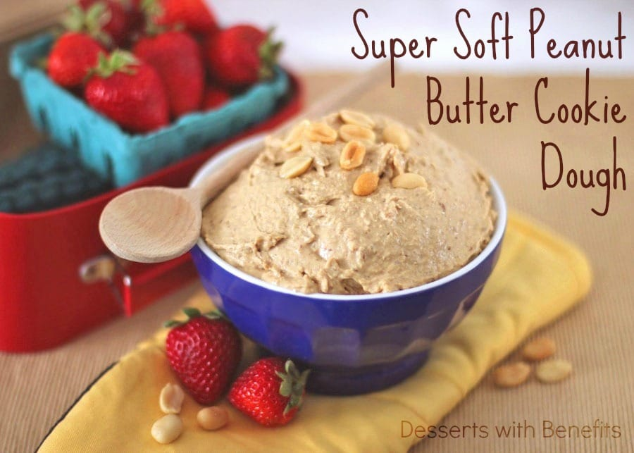 Healthy Peanut Butter Cookie Dough Dip - Healthy Dessert Blog