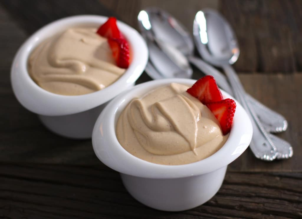 Healthy Peanut Butter Mousse – Healthy Dessert Recipes at Desserts with Benefits