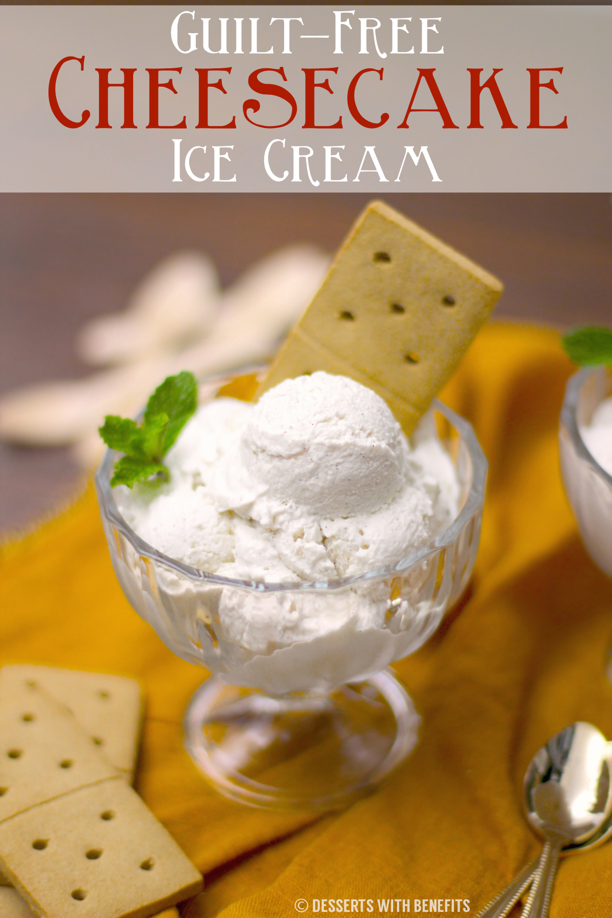 Healthy Cheesecake Ice Cream (sugar free, low carb, high protein) – Healthy Dessert Recipes at The Desserts With Benefits Blog
