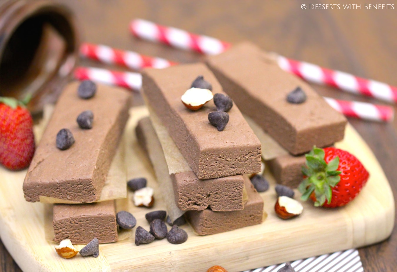 Low Fat High Fibre Cake Recipes: Healthy Nutella Fudge Protein Bars