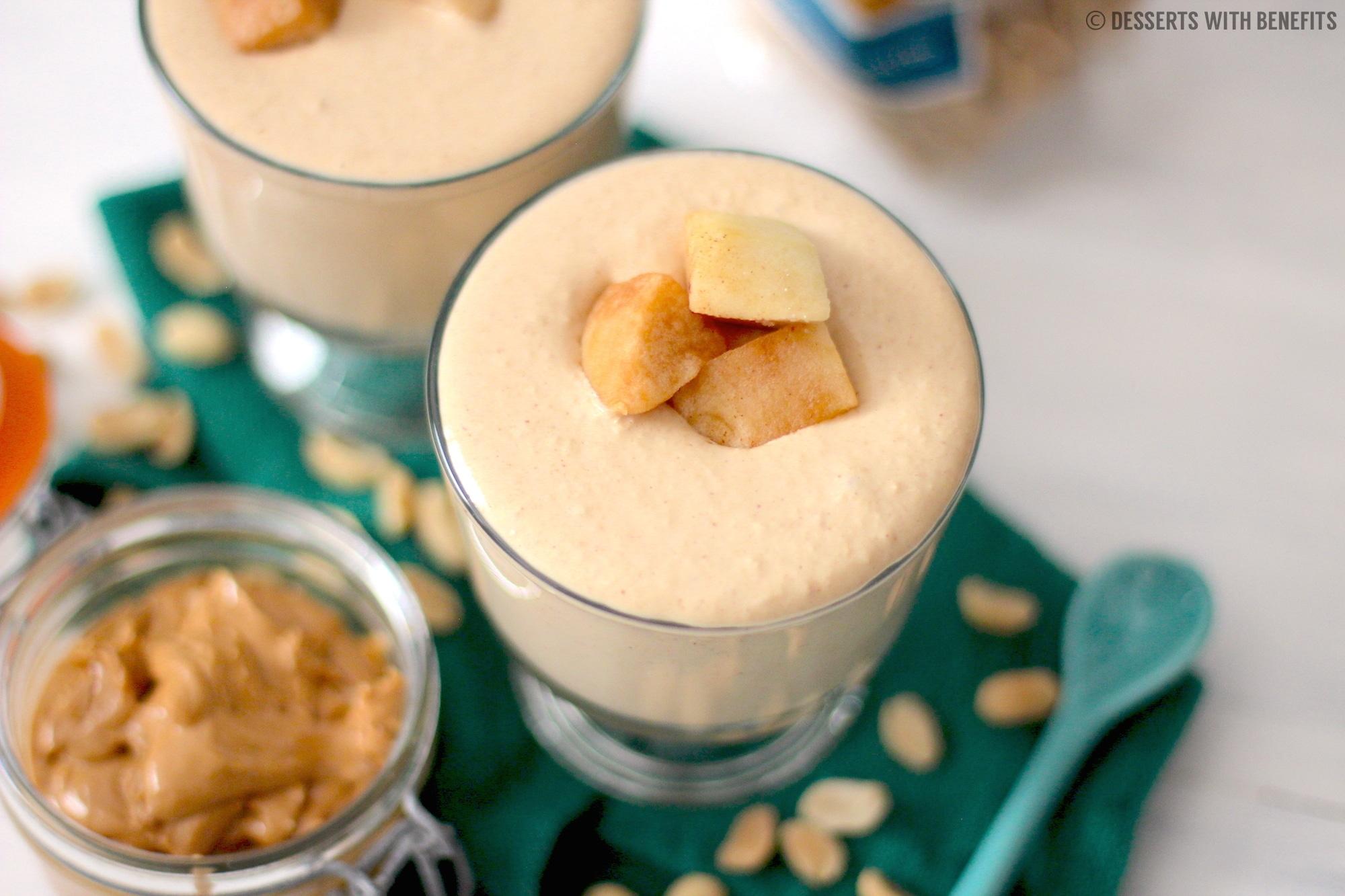 Low Carb Apple Cake Recipes: Healthy Peanut Butter Apple Yogurt Dip (low Fat
