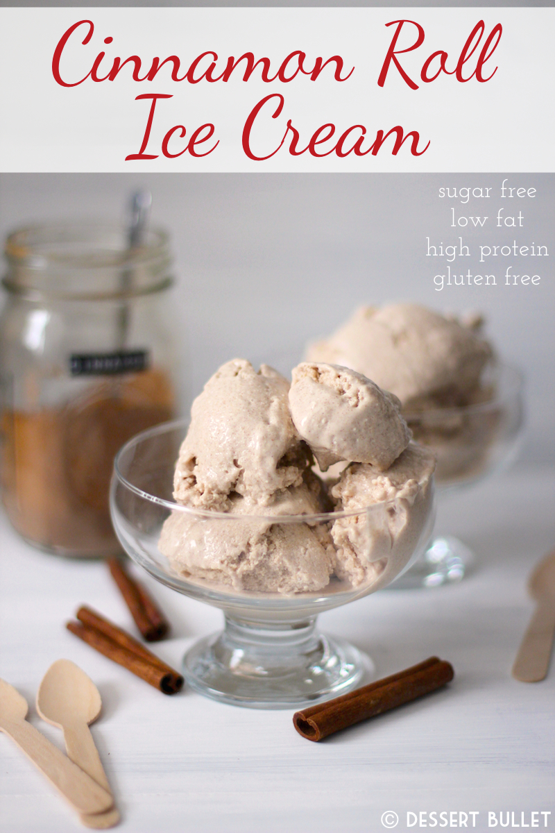 Decadent Cinnamon Roll Ice Cream – Healthy Dessert Recipes at The Desserts With Benefits Blog