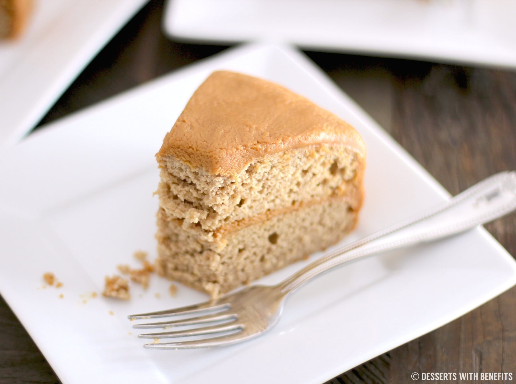 Healthy Gluten-Free Maple Cake
