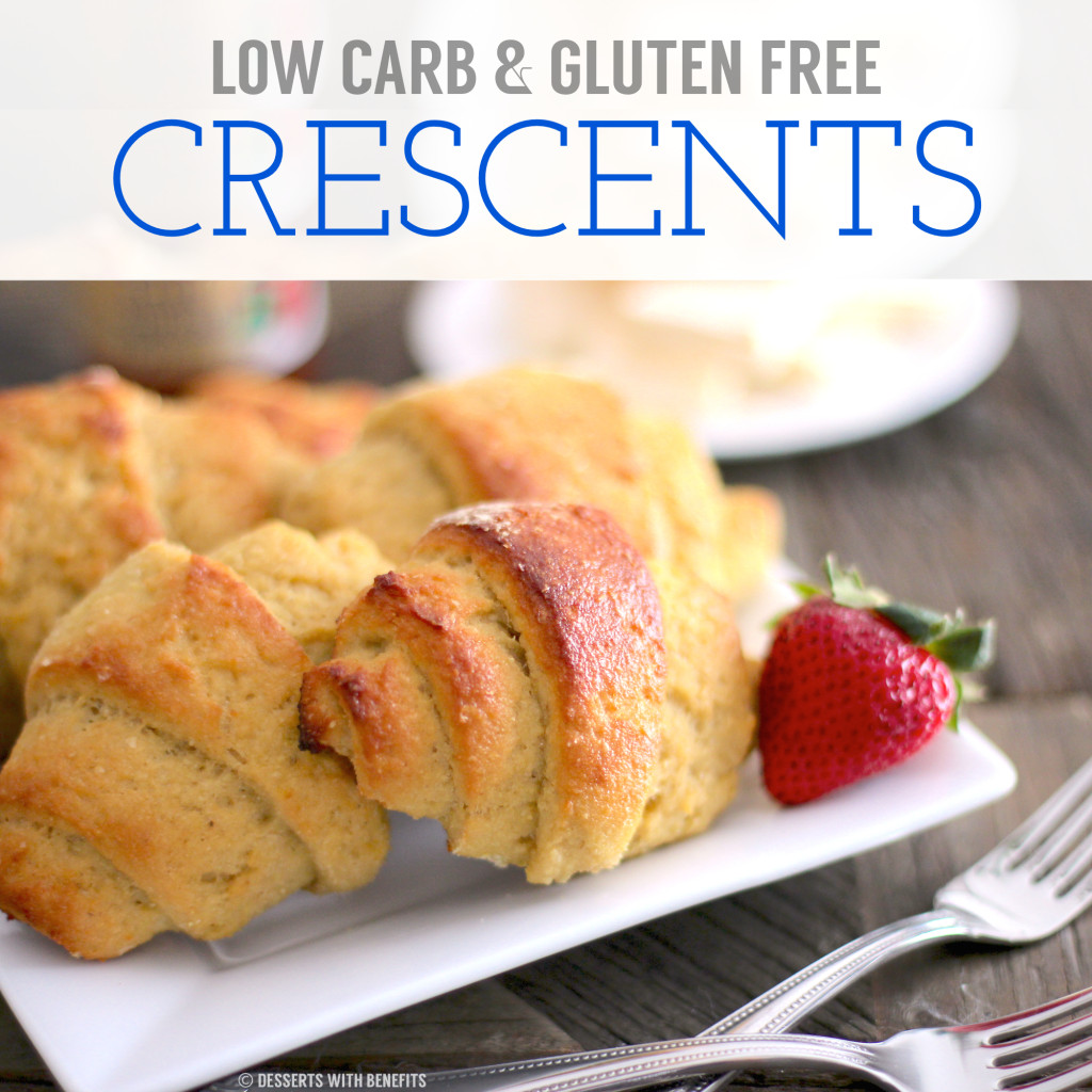 Healthy Homemade Low Carb Gluten Free Crescent Rolls