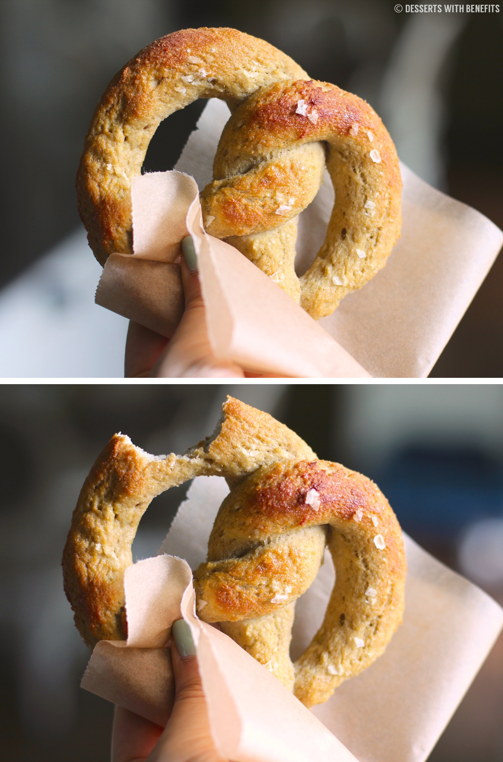 Healthy Low Carb and Gluten Free Soft Pretzels (made sugar free, low ...