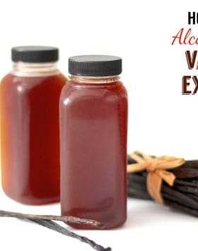 Easy Homemade Alcohol-Free Vanilla Extract (fat free, sugar free, low carb, gluten free, vegan) - Healthy Dessert Recipes at Desserts with Benefits