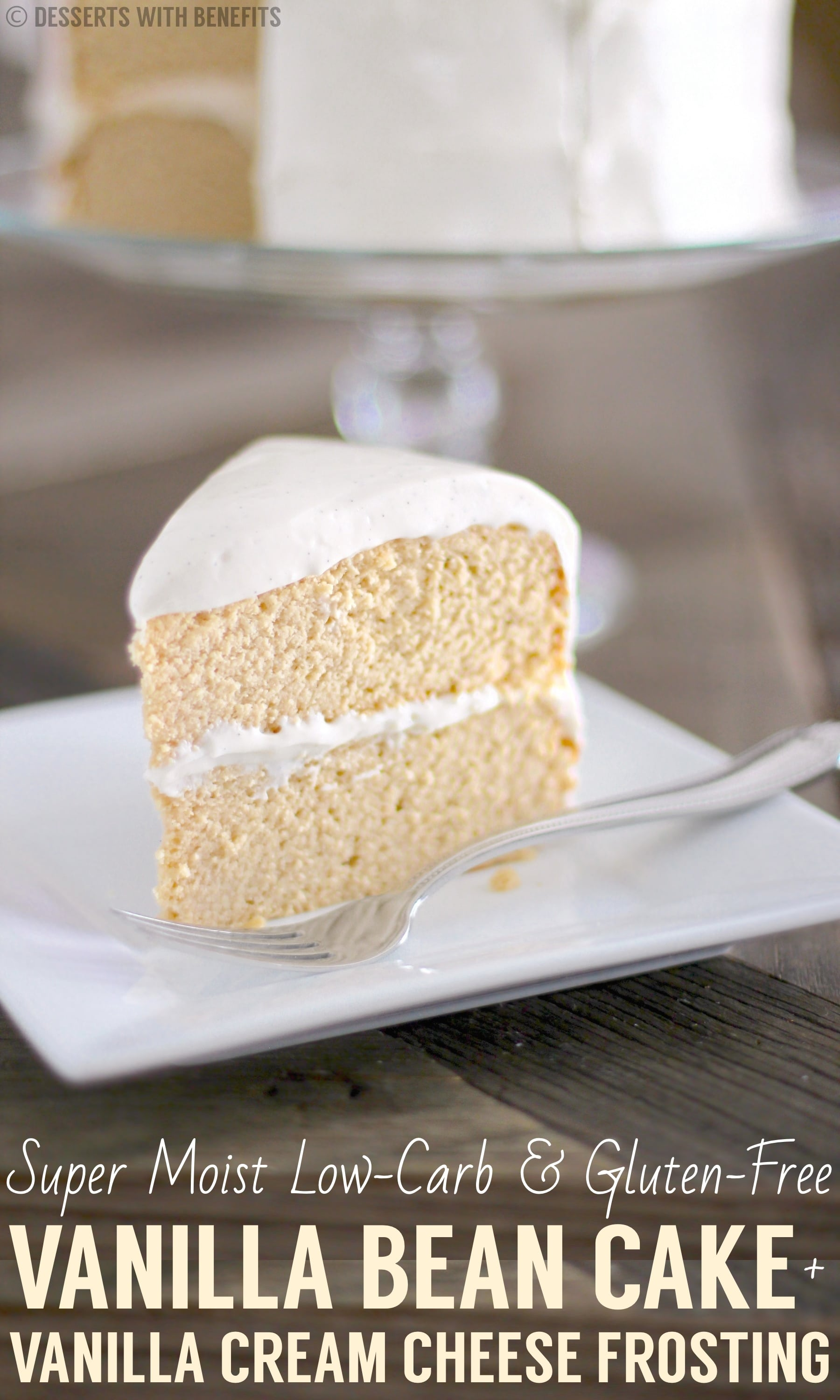 The Lightest Fluffiest Gluten Free Vanilla Cake Recipe