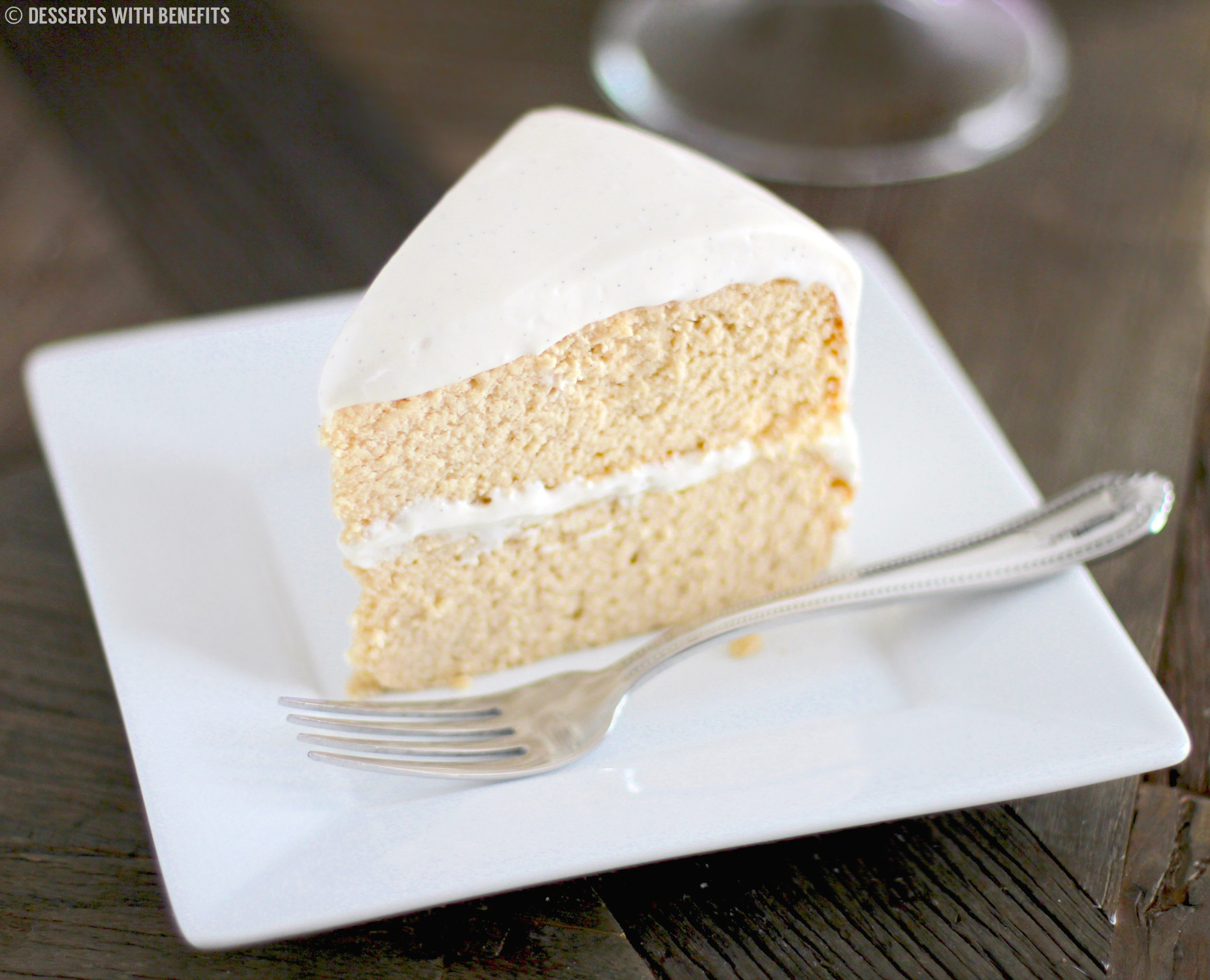 Moist Sugar Free Vanilla Cake Recipe