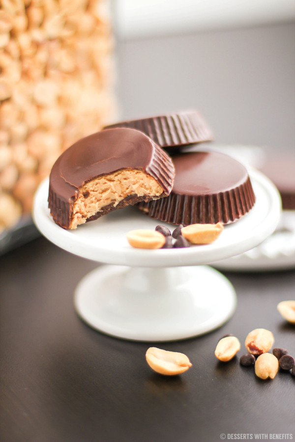 Healthy Homemade Peanut Butter Cups (sugar free)