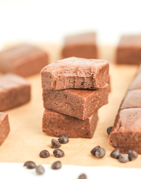 Healthy Nutella Protein Fudge recipe - Healthy Dessert Recipes at Desserts with Benefits