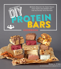 DIY Protein Bars Cookbook - Jessica Stier of Desserts with Benefits