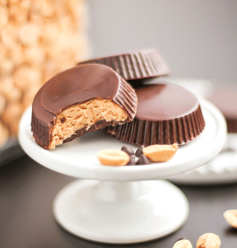 DIY Peanut Butter Cups (healthy, sugar free, gluten free) – Desserts with Benefits