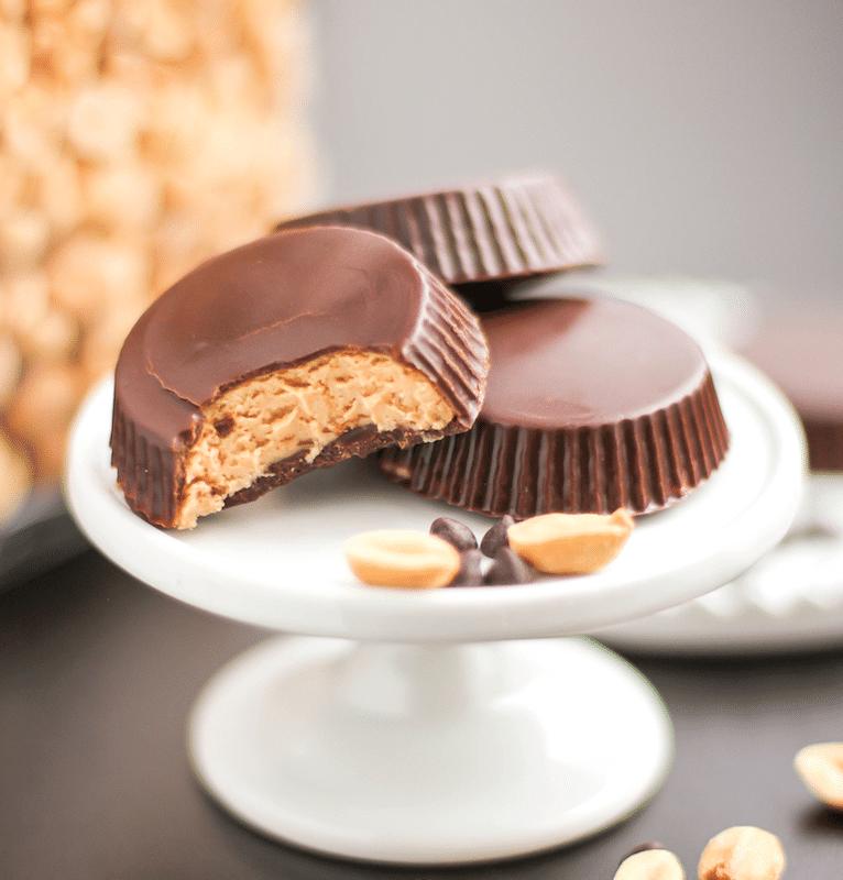 DIY Peanut Butter Cups (healthy, sugar free, gluten free) – Desserts with Benefits